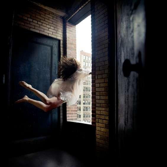 She Stands Between Two Doors. {Poetry}