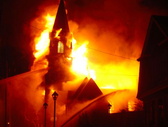 Who is Burning the Black Churches & Why Aren't We Being Told About It?