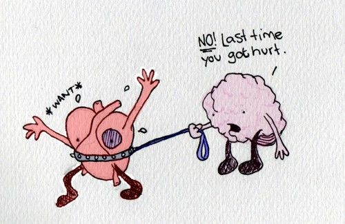 Arguing with Your Head and Heart.