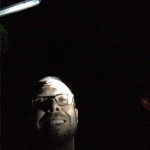 Tyler climbing Adam's Peak at 1 am