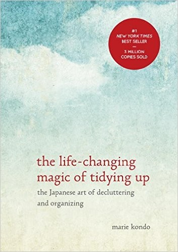 When I Read & Attempted The Life-Changing Magic of Tidying Up.