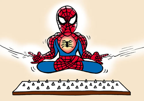 No Radioactive Spider, No Secret Ceremony: Becoming Enlightened Takes Work