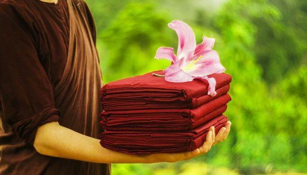 What Makes a Buddhist's Robes Sacred, and a Bathrobe Mundane?