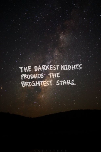 darkest nights