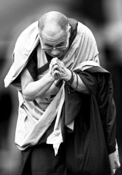 The Dalai Lama is an Inspiration in My Quest for Peace.