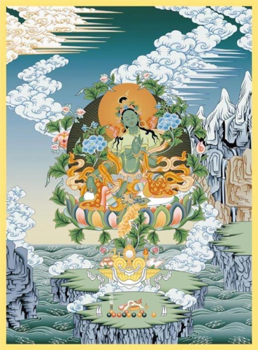 Unleashing the Bodhisattva Within.
