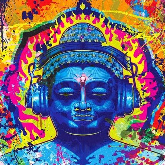 The Heavy Metal Buddhist.