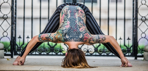 The Tattooed Yoga Project: Building Community through Art.