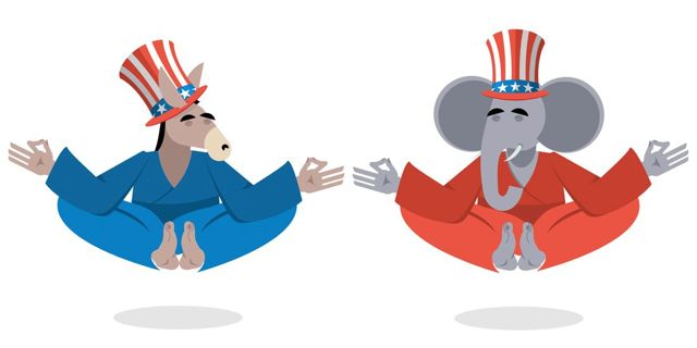 Politics & Pratyahara: Getting through the Election with Yoga.