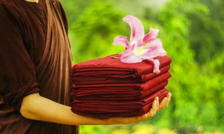 What Makes a Buddhist's Robes Sacred, and a Bathrobe Mundane?