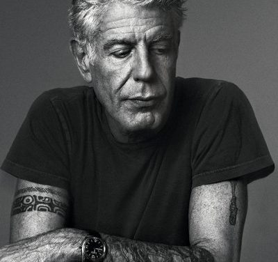 Anthony Bourdain Talks with Buddhists about Life, Death & Happiness