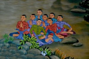 A Soccer Team and a Buddhist Monk Walk into a Cave