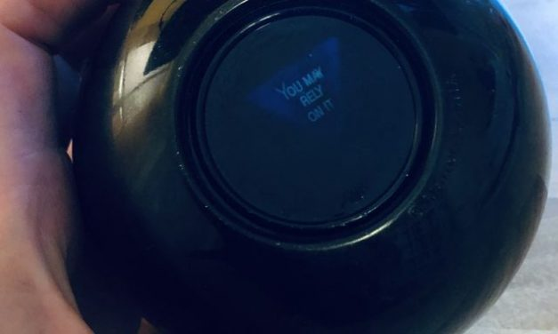 Adulting with a Magic 8 Ball