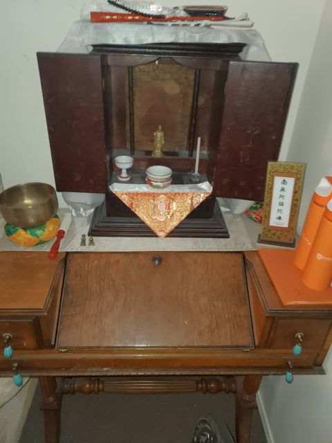 Sacred Little Altars Everywhere: An Obudsudan Altar