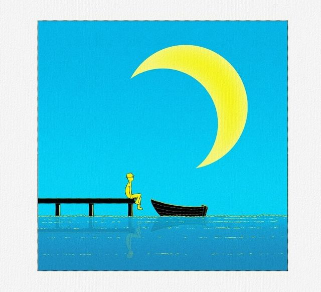 A Finger Pointing at the Moon: A Zen Lesson in Letting Go