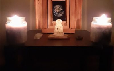 Sacred Little Altars Everywhere: My Altar Helps Me Walk the Path