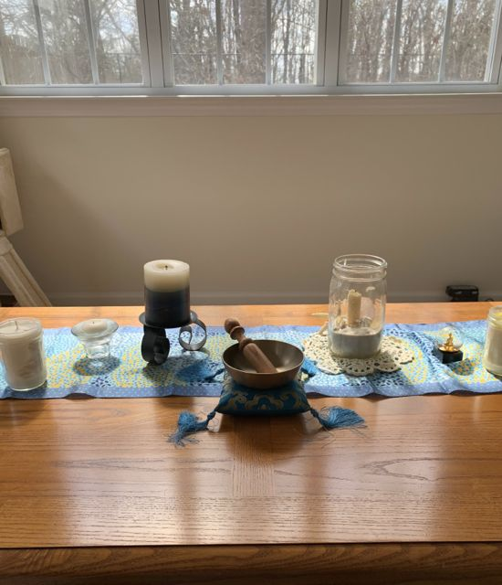 Sacred Little Altars Everywhere: My Retreat at Home