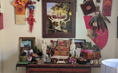 Sacred Little Altars Everywhere: Cringe Worthy to a Minimalist but Deeply Personal