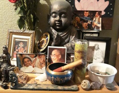 Sacred Little Altars Everywhere: Snapshots of My Life