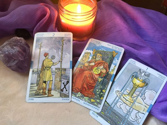 A Skeptic Steps Out: It was in the Cards {Part Two}