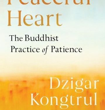 Peaceful Heart: The Buddhist Practice of Patience {Book Review}