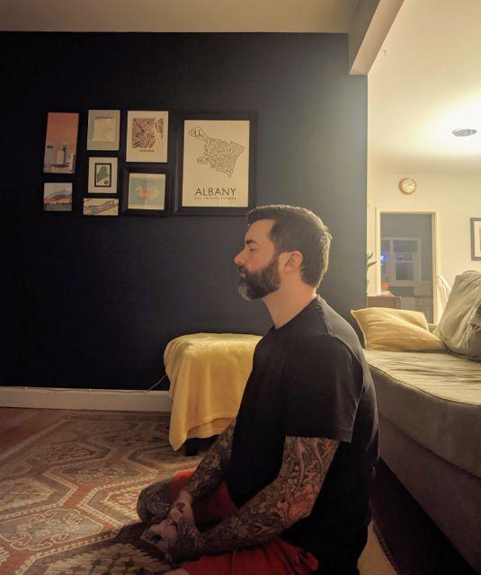 Snapshots of Meditation: Richard Daley